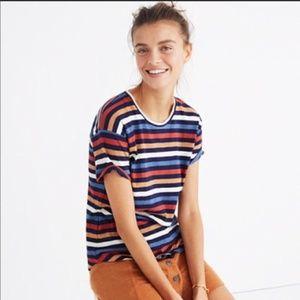Madewell Striped 100% cotton Tee Shirt